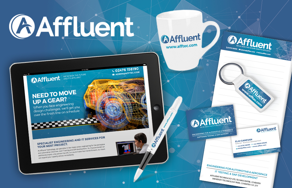 Business Rebrand, Business Rebrand Services in Oxford, Affluent Rebrand, Clear & Creative