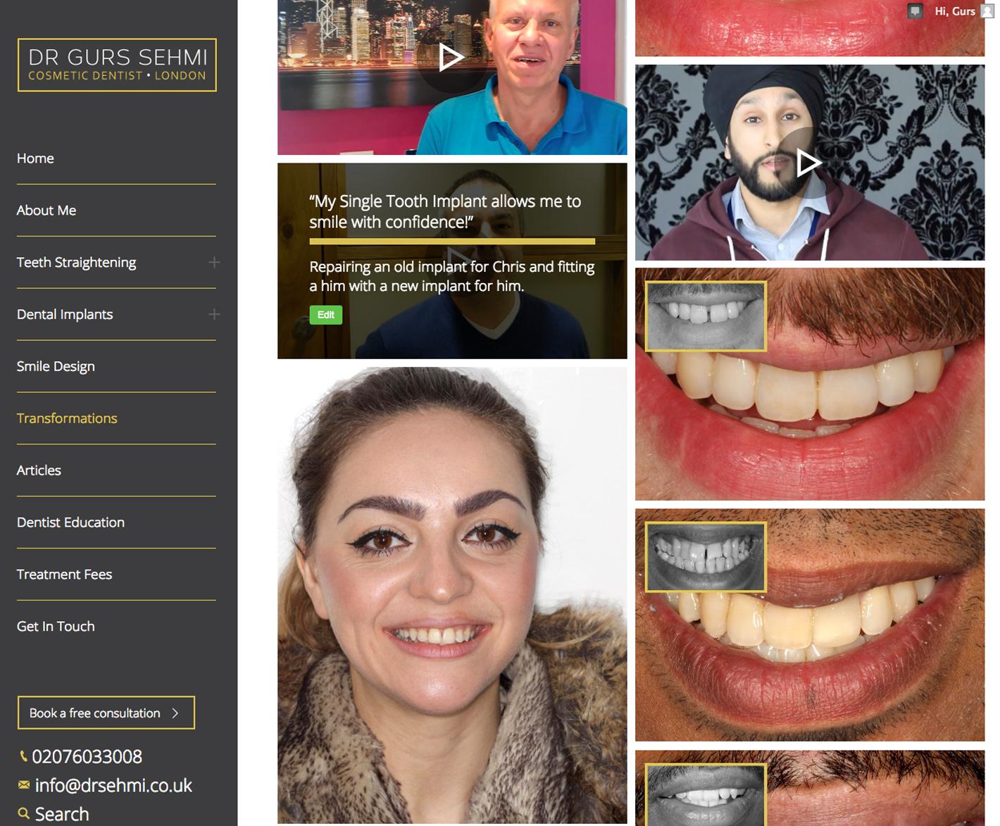 dentist website design oxford, Clear & Creative Oxford