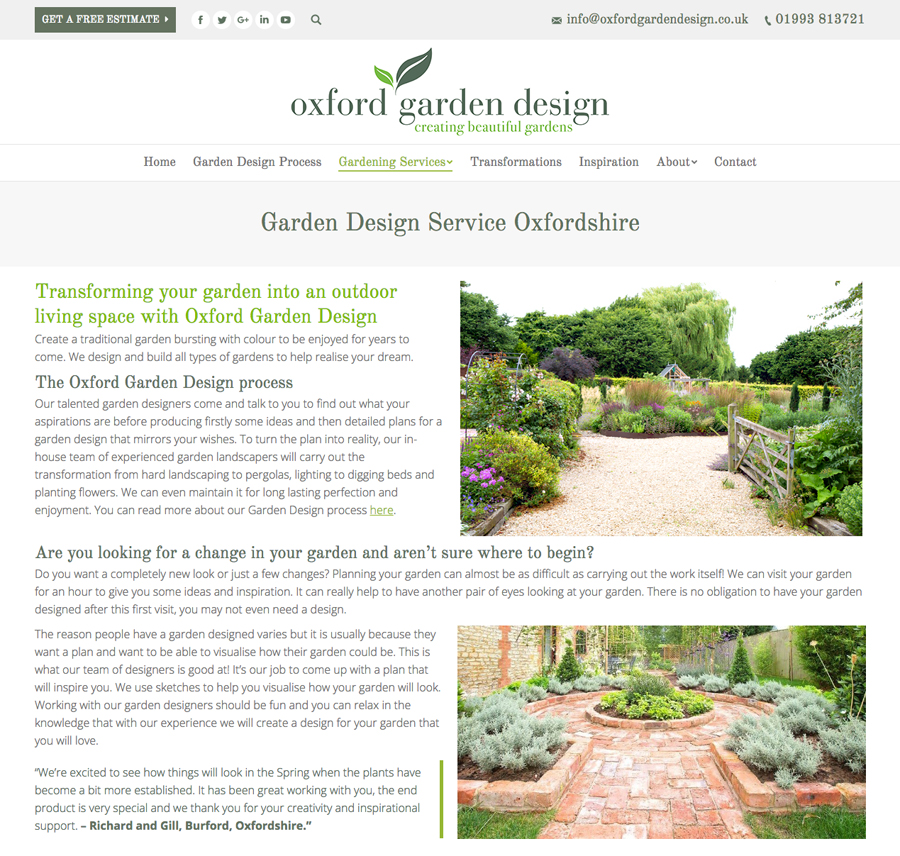 Website Design Oxford, Clear U0026 Creative, Oxford