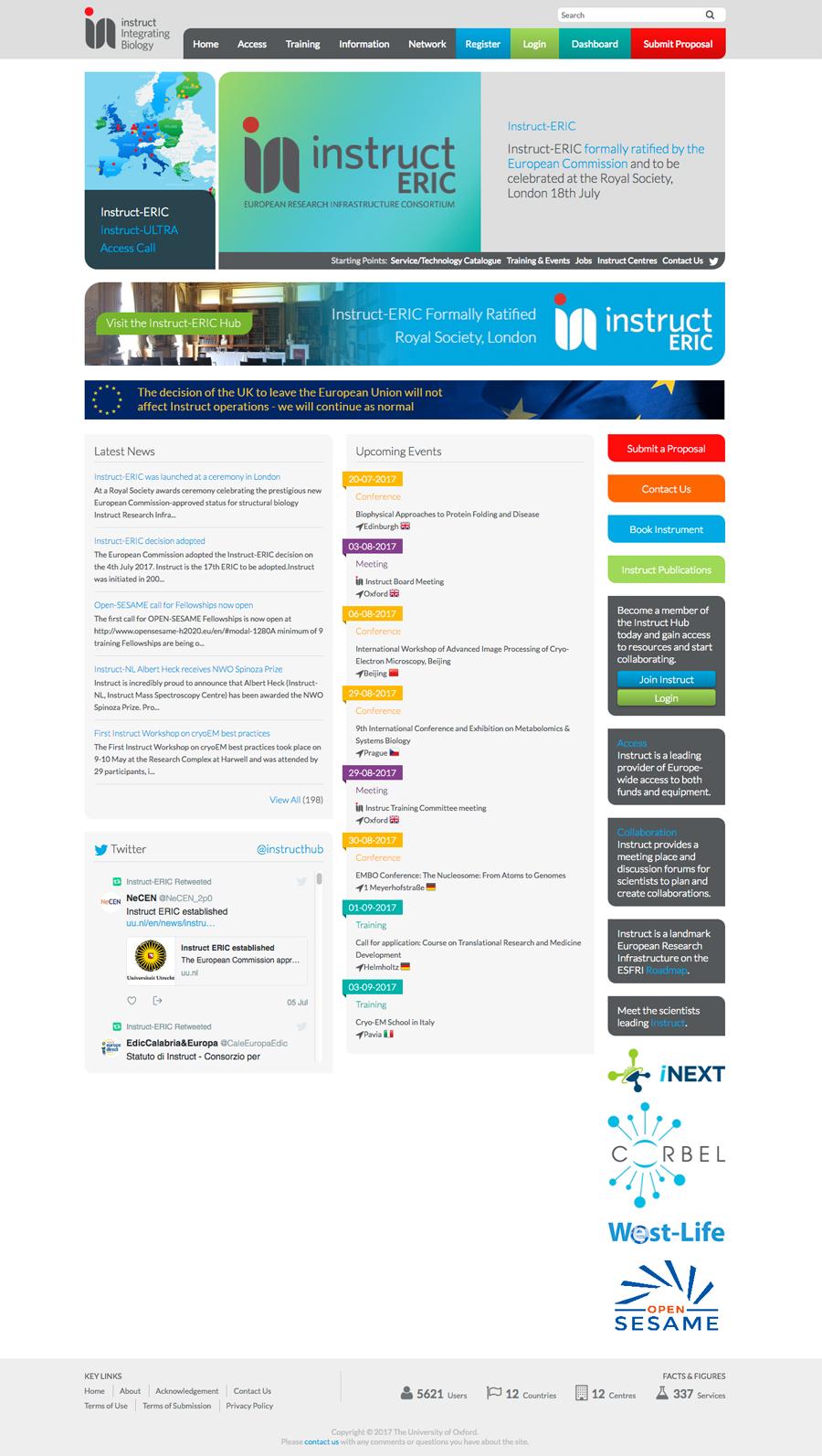 Instruct-Eric Website Design Oxford, Clear & Creative